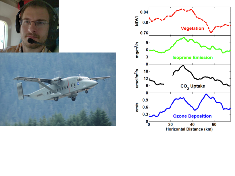 Airborne Observations of the Breathing Forest