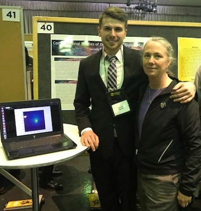 Garret Tignall, UMBC 2017-18 Undergraduate Research Award Winner Presented His Work at URCADXXII on April 25th