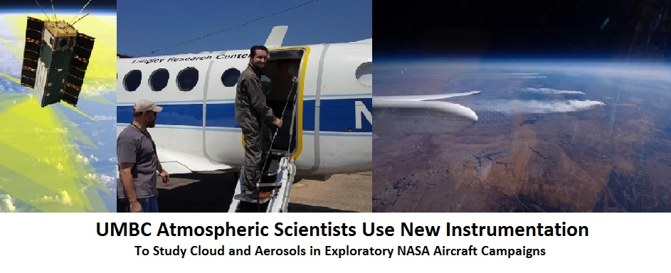 UMBC Atmospheric Scientists Use New Instrumentation